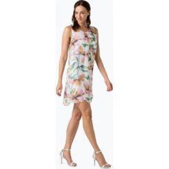 Cartoon Daydream - Sukienka damska z domieszką jedwabiu, beżowy. Brązowe sukienki z falbanami Cartoon Daydream. Za 299,95 zł.