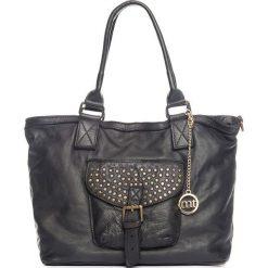 Torebki klasyczne damskie: Skórzana torebka w kolorze jasnobrązowym – 34 x 29 x 13 cm