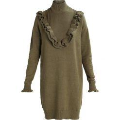 Sukienki dzianinowe: Vero Moda Tall VMBRAWLEY SVEA Sukienka dzianinowa dark olive