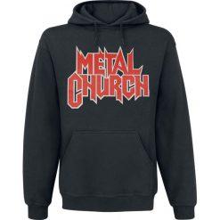 Metal Church The dark Bluza z kapturem czarny. Czarne bluzy męskie Metal Church, l, z kapturem. Za 164,90 zł.