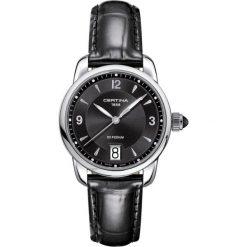 PROMOCJA ZEGAREK CERTINA DS PODIUM. Białe zegarki damskie CERTINA, ze stali. W wyprzedaży za 1080,00 zł.