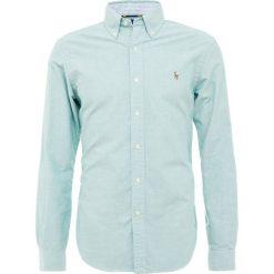 Polo Ralph Lauren OXFORD SLIM FIT Koszula hunter gree. Szare koszule męskie slim marki Polo Ralph Lauren, l, z bawełny, button down, z długim rękawem. Za 419,00 zł.
