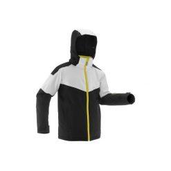 Kurtka SKI-P JKT 900. Czarne kurtki chłopięce przeciwdeszczowe WED'ZE. Za 299,99 zł.