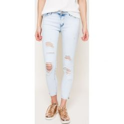 Haily's - Jeansy. Szare jeansy damskie rurki Haily's, z obniżonym stanem. W wyprzedaży za 79,90 zł.
