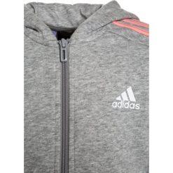 Adidas Performance Bluza rozpinana medium grey heather/still breeze. Szare bluzy chłopięce rozpinane adidas Performance, z bawełny. W wyprzedaży za 146,30 zł.