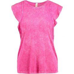 Free People RYDER Tshirt z nadrukiem pink. Czerwone t-shirty damskie Free People, l, z nadrukiem, z elastanu. W wyprzedaży za 143,10 zł.