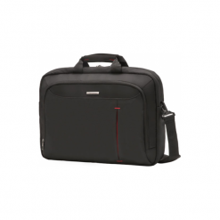 "Samsonite Guardit 17.3"" czarna. Czarne torby na laptopa marki Samsonite, w paski. Za 279,00 zł."