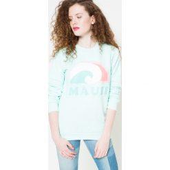 Femi Pleasure - Bluza. Szare bluzy rozpinane damskie Femi Stories, l, z nadrukiem, z bawełny, bez kaptura. W wyprzedaży za 99,90 zł.