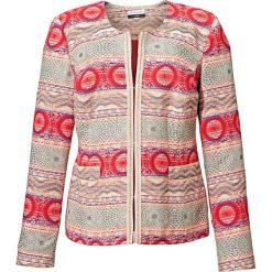 Odzież damska: Kurtka w kolorze czerwonym ze wzorem