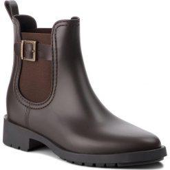 Kalosze MARC O'POLO - 808 15067701 800  Dark Brown 790. Brązowe buty zimowe damskie Marc O'Polo, z materiału. Za 389,00 zł.