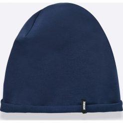 Answear - Czapka SPORTY FUSION. Niebieskie czapki zimowe damskie ANSWEAR, z bawełny. W wyprzedaży za 9,90 zł.