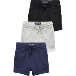 Next 3 PACK  Spodnie treningowe black. Czarne spodnie dresowe dziewczęce Next, z bawełny. Za 129,00 zł.