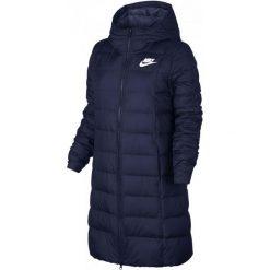 Nike Płaszcz Zimowy W Nsw Dwn Fill Prka Blue M. Niebieskie płaszcze damskie Nike, na zimę, m, eleganckie. W wyprzedaży za 465,00 zł.