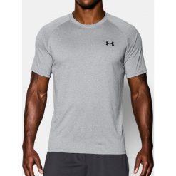 Koszulki sportowe męskie: Under Armour Koszulka męska Tech Short Sleeve T-Shirt True Gray Heather r. S (1228539437)