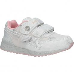 Srebrne buty sportowe brokatowe na rzepy Casu 5XC7535. Szare buciki niemowlęce Casu, na rzepy. Za 69,99 zł.