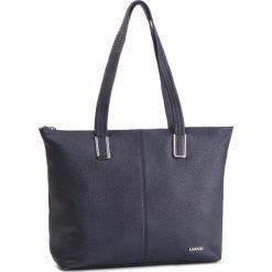 Torebka LASOCKI - VS4377 Granatowy. Niebieskie torebki klasyczne damskie Lasocki, ze skóry, duże, bez dodatków. Za 279,99 zł.