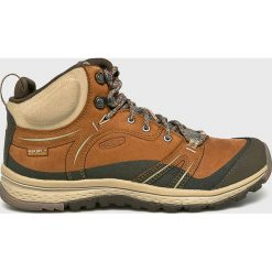 Keen - Buty Terradora Leather Mid. Brązowe buty trekkingowe damskie marki Keen. Za 549,90 zł.
