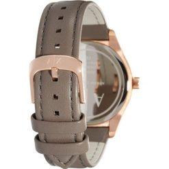 Armani Exchange Zegarek braun. Brązowe zegarki damskie Armani Exchange. W wyprzedaży za 559,30 zł.
