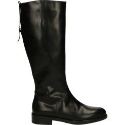 Kozaki ocieplane - 2151102 NERO. Czarne buty zimowe damskie Venezia, ze skóry. Za 299,00 zł.