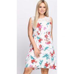 Sukienki: Biała Sukienka Zefi