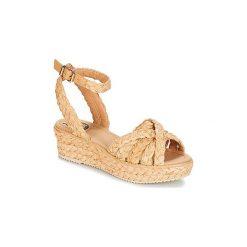 Sandały Miss L'Fire  RAPHAEL. Brązowe sandały trekkingowe damskie Miss L'Fire. Za 356,30 zł.