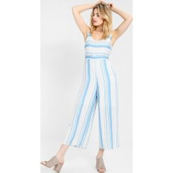 Kombinezony damskie: MINKPINK STRIPE  Kombinezon blue/off white