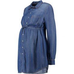 9Fashion MAPENA Koszula indigo. Niebieskie koszule damskie 9Fashion, xs, z lyocellu. Za 379,00 zł.