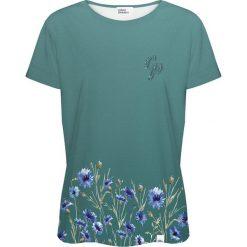 Colour Pleasure Koszulka damska CP-030 251 zielona r. XL/XXL. T-shirty damskie Colour pleasure, xl. Za 70,35 zł.