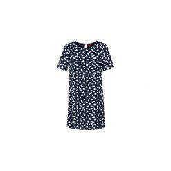Sukienki krótkie S.Oliver  FELMIGUA. Niebieskie sukienki mini marki S.Oliver, s, z krótkim rękawem. Za 247,20 zł.