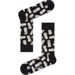 Happy Socks - Skarpety Logs. Czarne skarpetki męskie Happy Socks, z bawełny. Za 39,90 zł.