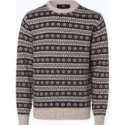 Nils Sundström - Sweter męski, beżowy. Brązowe swetry klasyczne męskie Nils Sundström, m, z materiału. Za 299,95 zł.