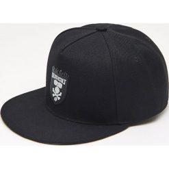 Czapki z daszkiem męskie: Czapka full cap – Khaki