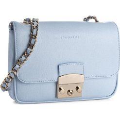 Torebka COCCINELLE - YM5 Margo Chain C1 YM5 12 03 01 Iris 240. Niebieskie torebki klasyczne damskie marki Coccinelle, ze skóry. W wyprzedaży za 649,00 zł.