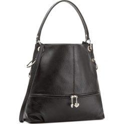 Torebka CREOLE - K10290  Czarny. Czarne torebki klasyczne damskie Creole, ze skóry. W wyprzedaży za 209,00 zł.