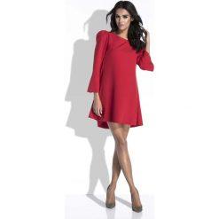 Czerwona Sukienka Mini o Linii A z Dekoltem na Plecach. Czarne sukienki balowe marki Mohito, l, z dekoltem na plecach. W wyprzedaży za 115,43 zł.