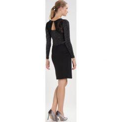 Sukienki hiszpanki: Kaffe Sukienka etui black deep/ silver