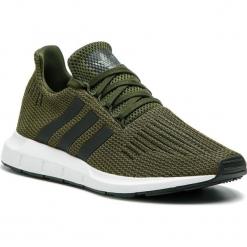 Buty adidas - Swift Run CG6167 Ngtcar/Cblack/Ftwwht. Zielone halówki męskie Adidas, z materiału. Za 379,00 zł.