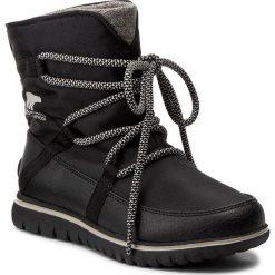 Śniegowce SOREL - Cozy Explorer NL2744 Black 010. Czarne buty zimowe damskie Sorel, z gumy. W wyprzedaży za 319,00 zł.
