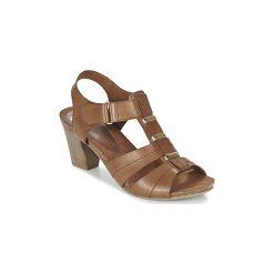 Sandały Caprice  ROSITE. Brązowe rzymianki damskie Caprice. Za 247,20 zł.