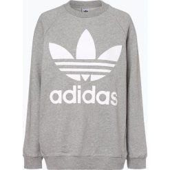 Adidas Originals - Damska bluza nierozpinana, szary. Szare bluzy damskie marki adidas Originals, na co dzień, z nadrukiem, z bawełny, casualowe, z okrągłym kołnierzem, proste. Za 249,95 zł.