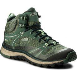 Trekkingi KEEN - Terradora Mid Wp 1018525 Duck Green/ Quiet Green. Zielone buty trekkingowe damskie Keen. W wyprzedaży za 329,00 zł.