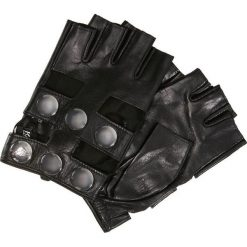 Rękawiczki damskie: KARL LAGERFELD SNAPS GLOVE Rękawiczki pięciopalcowe black