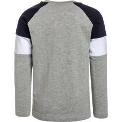 The New GORDON Bluzka z długim rękawem light grey melange/black iris. Białe bluzki dziewczęce bawełniane marki The New. Za 129,00 zł.