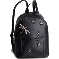 Plecak NOBO - NBAG-F1430-C020 Czarny. Czarne plecaki damskie marki Nobo, ze skóry ekologicznej, klasyczne. W wyprzedaży za 149,00 zł.