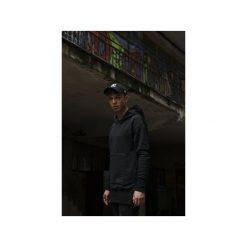 Bluza Hoodie BBB Extendend. Czarne bluzy męskie rozpinane Harp Team, xl, z nadrukiem, z bawełny, z długim rękawem, długie, z kapturem. Za 249,00 zł.