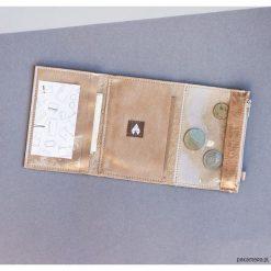 MINI / Soft Gold - portfel ze skóry. Niebieskie portfele damskie Pakamera, ze skóry. Za 139,00 zł.