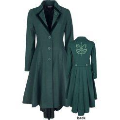 Fantastic Beasts Grindelwalds Verbrechen - Vinda Rosier Coat Płaszcz damski ciemnozielony. Zielone płaszcze damskie pastelowe Fantastic Beasts, xl, z aplikacjami, retro. Za 649,90 zł.