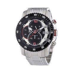 """Zegarki męskie: Zegarek """"CAP-1103213.A"""" w kolorze srebrno-czarnym"""