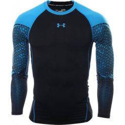 Under Armour Koszulka kompresyjna Exclusive Compression M czarno-niebieska r. S (1271346-001). Białe koszulki sportowe męskie marki Adidas, l, z jersey, do piłki nożnej. Za 139,53 zł.