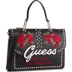 Torebka GUESS - HWEF71 08180 BML. Czarne torebki klasyczne damskie marki Guess, z aplikacjami, ze skóry ekologicznej. Za 679,00 zł.
